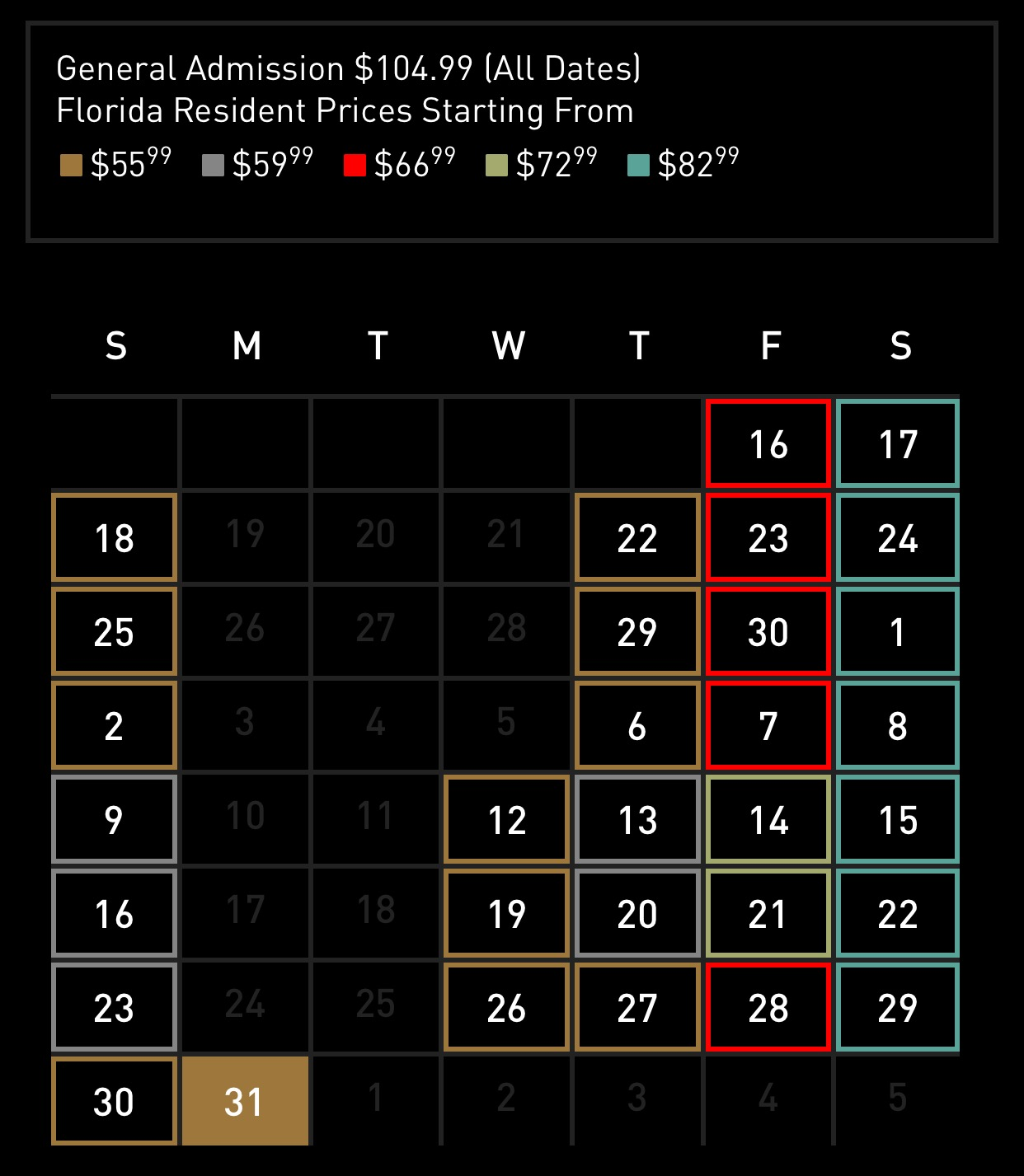 buying your tickets a roadmap hhn unofficial - How Much Are The Halloween Horror Night Tickets